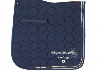 Euro-Star_SaddlePad_Crystal_navy_